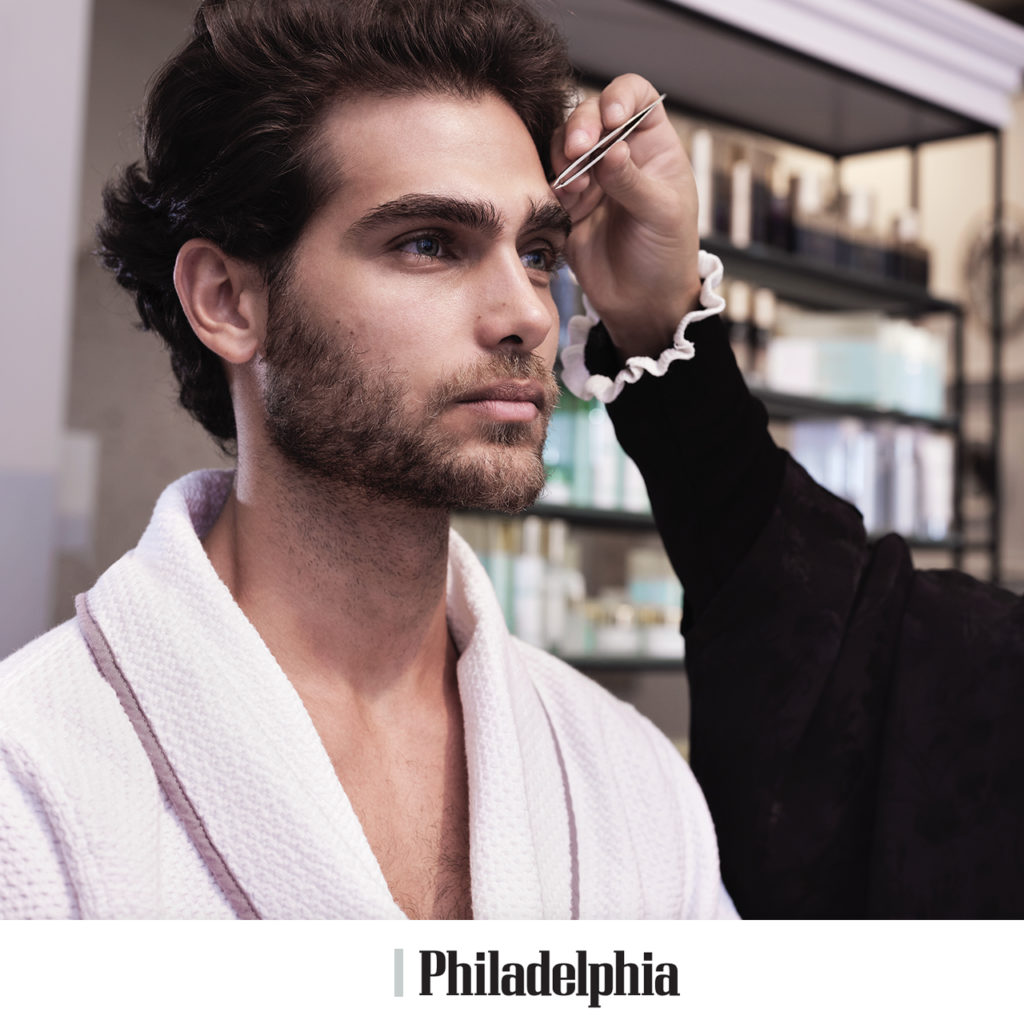 Philly Mag Next Level Men S Grooming Treatments To Try Now Rescue Spa For Shapely Brows Beauty Aficionado Beauty Aficionado