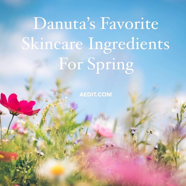 AEDIT: Danuta Mieloch Shares Her Favorite Skincare Ingredients For Spring: Retinol